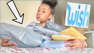 Unboxing Wish Items ! ????