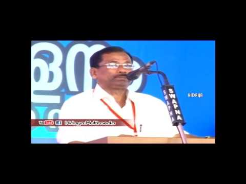 A.A.C Valavannur | Old student conference | President's speech | Saidalavi Master