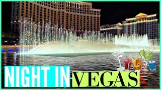 A Night in LAS VEGAS!!