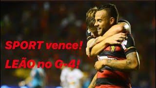 SPORT vence o VITÓRIA-BA por 3X1, com dois gols de GUILHERME e entra no G-4 do Brasileiro da Série B