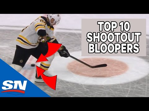 Top 10 NHL Shootout Bloopers Of AllTime