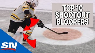 Top 10 NHL Shootout Bloopers Of All-Time