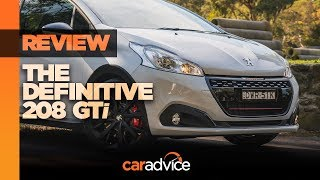 Peugeot 208 GTI Edition Definitive review
