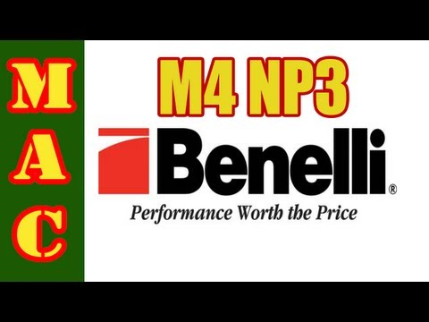 SHOT Show - Benelli M4 H20 with NP3 Finish