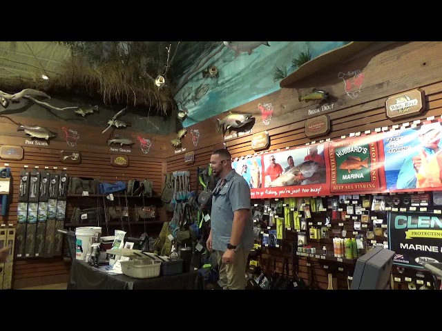 Bass pro shops seminar - near shore and offshore fishing 11/17/18 | http://www.HubbardsMarina.com