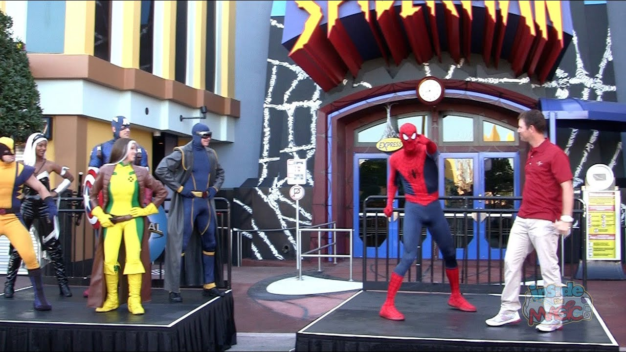 Enhanced Spider Man Ride Reopening Moment At Universal