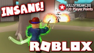 BEST KILLSTREAK EVER IN WILD REVOLVERS!! (Roblox)