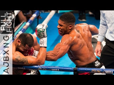 Full Fight | Anthony Joshua Vs Eric Molina TKO