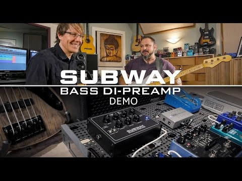 MESA/Boogie Subway Bass DI Preamp Pedal Demo