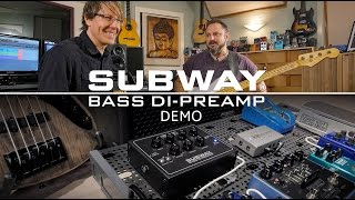 MESA/Boogie Subway Bass DI Preamp Pedal Playthrough
