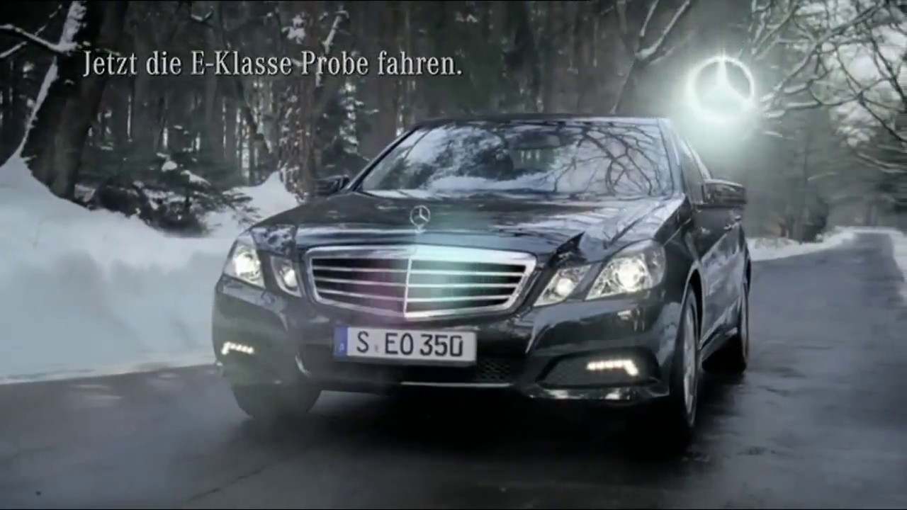 Mercedes e class commercial sorry youtube for Mercedes benz sweatsuit
