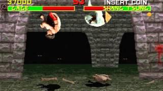 Mortal Kombat (Arcade) Shang Tsung draw glitch #4 No unmorph
