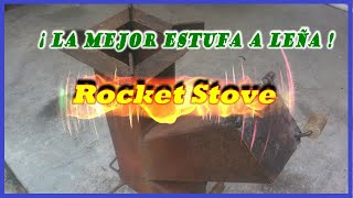 ROCKET STOVE O COCINA COHETE.