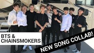Video BTS & The Chainsmokers New Song ALERT! - 'Best of Me' download MP3, 3GP, MP4, WEBM, AVI, FLV Juli 2018