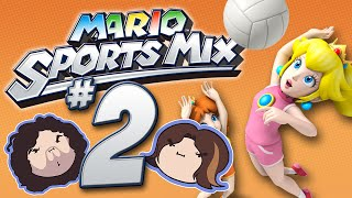Mario Sports Mix: Volley! - PART 2 - Game Grumps VS