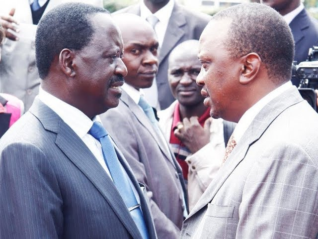 It's a neck to neck race between Raila Odinga and Uhuru Kenyatta as Results Transmission kicks off