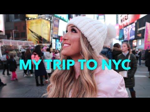 VLOG: CHRISTMAS TRIP TO NYC!!!
