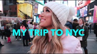 VLOG: CHRISTMAS TRIP TO NYC!!!