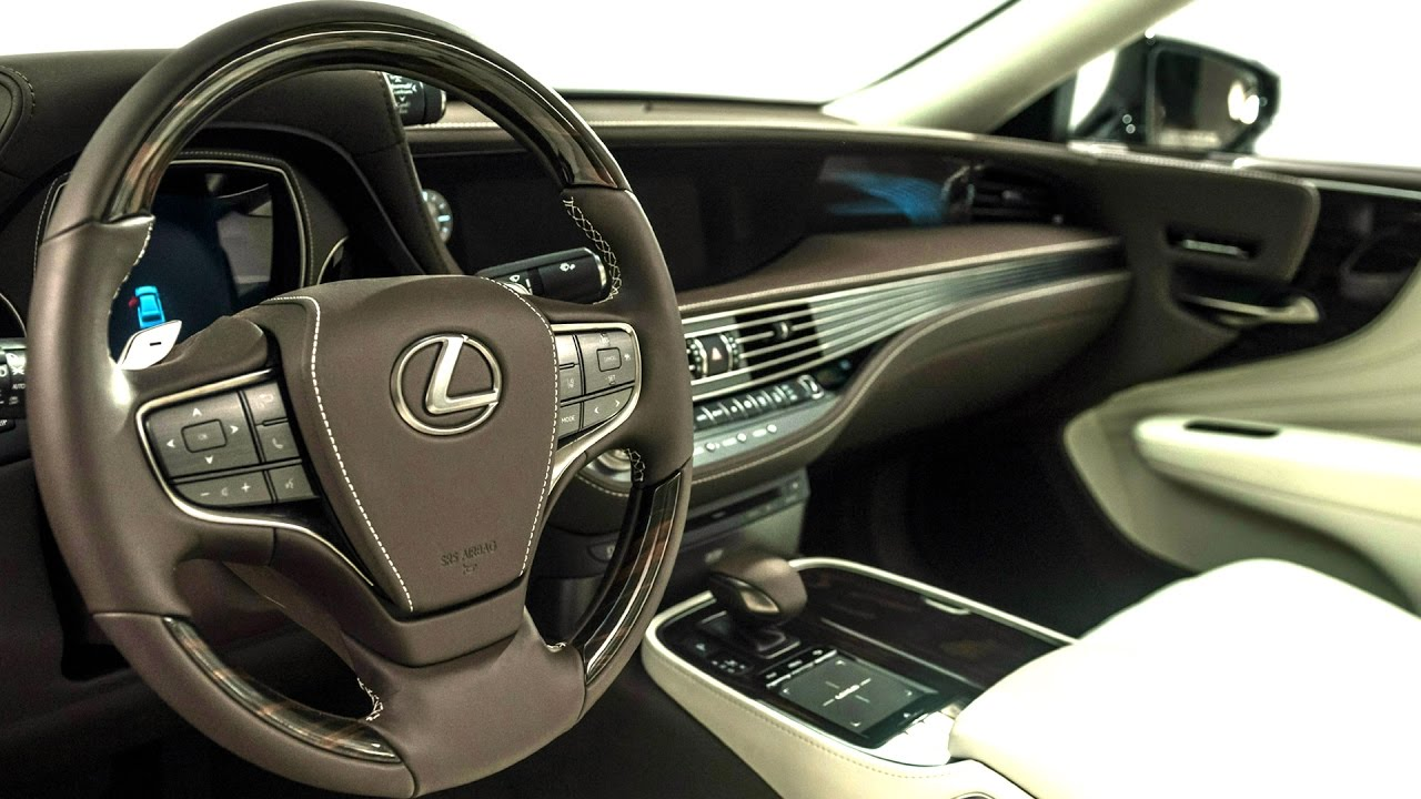 2018 lexus ls 500 luxury interior youtube. Black Bedroom Furniture Sets. Home Design Ideas