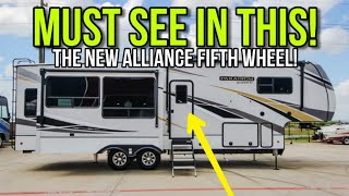 The all new Alliance 310RV Fifth Wheel RV! Look inside this beautiful RV!