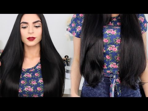 How I Grew My Hair 30 inches Long!   Hair Care Routine