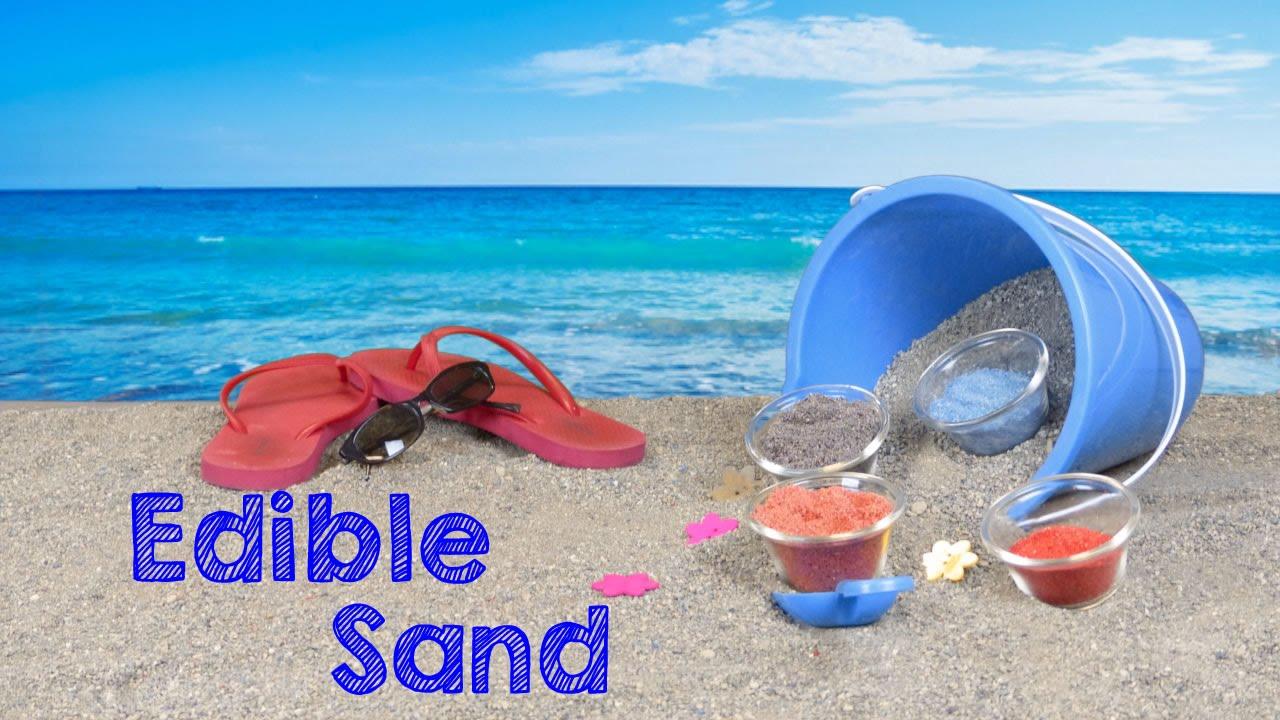 Edible Crafts For Kids To Make Part - 33: Crafts For Kids: How To Make Edible Colored Sand - KidPep Crafts U0026 DIY