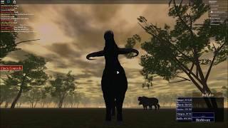 Roblox: Wild Savannah Cape Buffalo Documentary (with text)