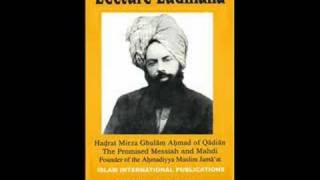 LECTURE LUDHIANA BY HADHRAT MIRZA GHULAM AHMAD OF QADIAN (ENGLISH AUDIO) PART 3/13
