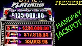 ✦JACKPOT HANDPAY✦!! High Limit QUICK HIT Slot Machine HANDPAY JACKPOT  🔴PREMIERE STREAM   Live Slot