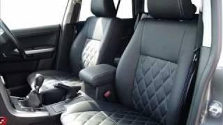 Bespoke leather interior for Suzuki Grand Vitara by The Seat Surgeons