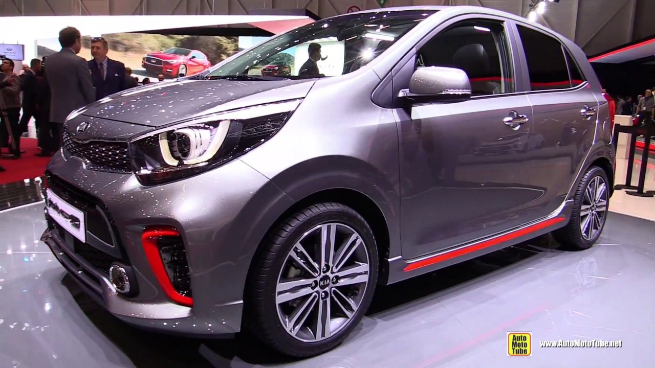 2017 kia picanto gt line exterior and interior walkaround 2017 geneva motor show youtube. Black Bedroom Furniture Sets. Home Design Ideas
