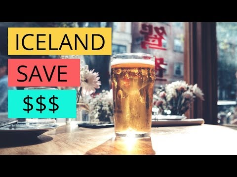 How to save money on FOOD + DRINK in Iceland