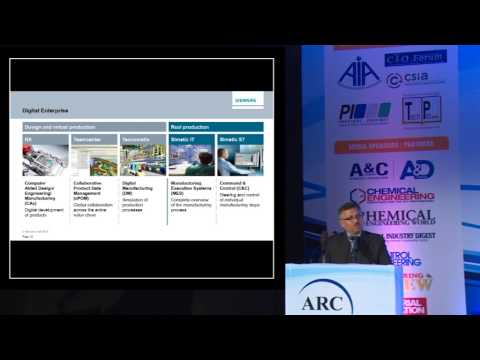 """Digitalization in Manufacturing Through Every Phase of the Value Chain"" by Gautam Dutta, Siemens"