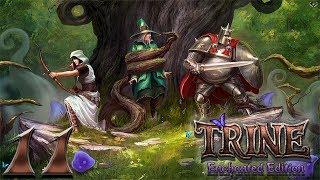 Trine: Enchanted edition прохождение на геймпаде часть 11 Кругом лава и свечки