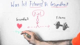 Fitness Vs. Gesundheit Was ist der Unterschied? Fitness Trainer B-Lizenz #1