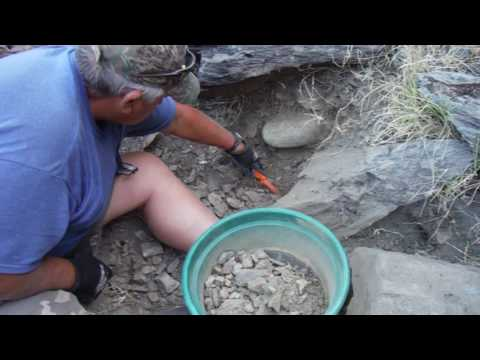 That's what we want to find - Gold Prospecting 2016