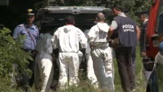 Serial killer di Gorizia. Le fosse dove le vittime erano state sepolte