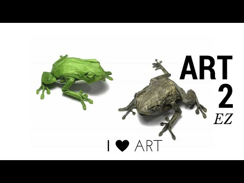 ART 2 EASY- ANIMALS PLANET MAKE FROM PAPER