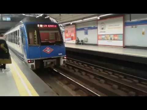 Metro de Madrid 6000 TFM por Colombia
