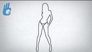 Cómo dibujar bien: la línea de contorno es sexy. Dibujar Bien.com
