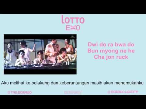 EXO - LOTTO [MV, EASY LYRIC, LIRIK INDONESIA]