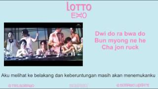 EXO - LOTTO [MV, EASY LYRIC, LIRIK INDONESIA]