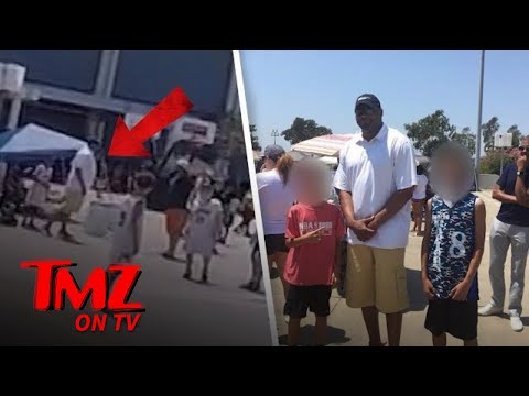 NBA Star Robert Horry Throws Punches At His Kid's Basketball Game!   TMZ TV