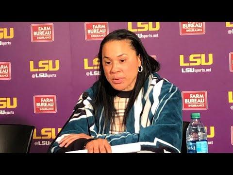 POSTGAME: Dawn Staley on LSU — 1/13/19
