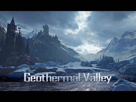 Rise of the Tomb Raider - Geothermal Valley (1 Hour of Ambience)