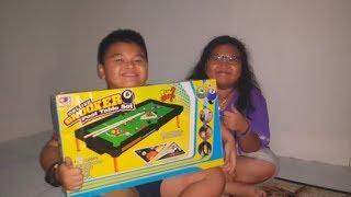 Permainan Bola Sodok Buat Anak | Kids Snooker Table Games How to Play