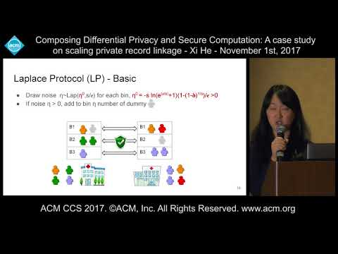 11 1 17 ACM CCS   Xi He   Composing Differential Privacy Secure Computation