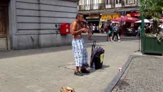 Incredible beatbox in Brussels!