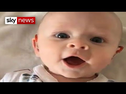 The Mo & Sally Show - Good News: Deaf Baby Gets Hearing Aids And Hears For The First Time