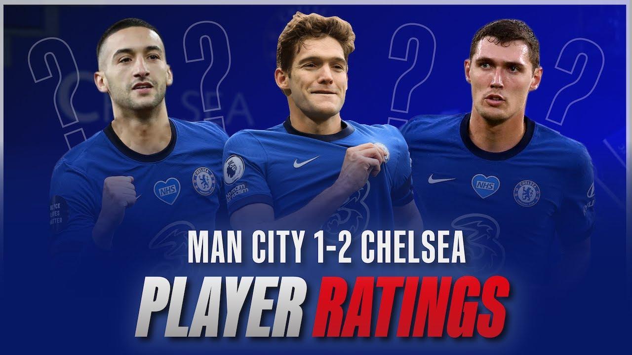 Player Ratings: Manchester City 1-2 Chelsea   Premier League